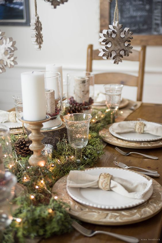 belle table de noël les incorrigibles